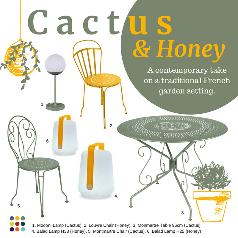 Cactus Honey Combination