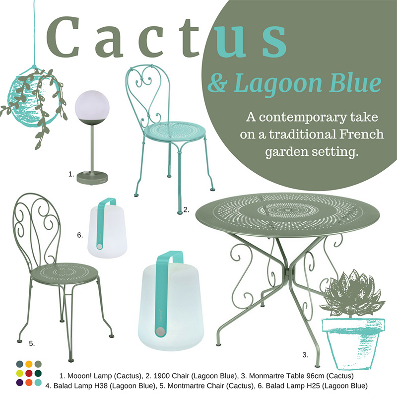 Cactus Lagoon Blue Combination