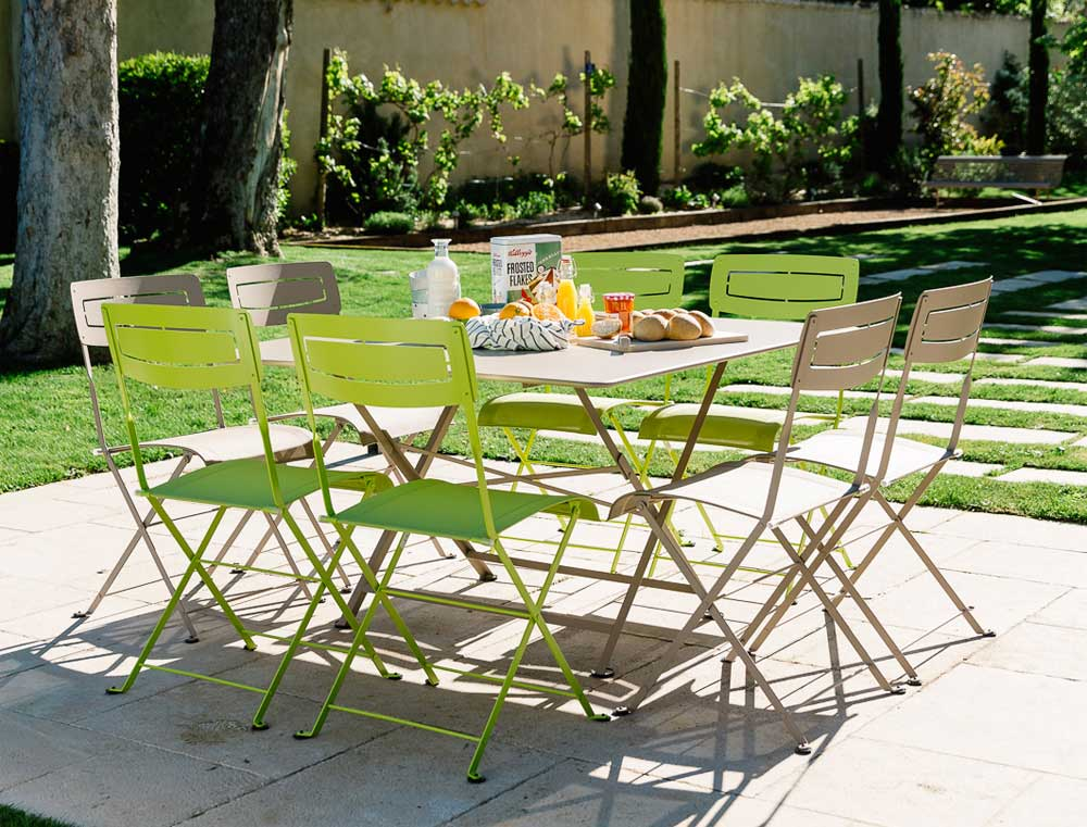 Garden furniture three ways jardin - Table jardin naterial villeurbanne ...