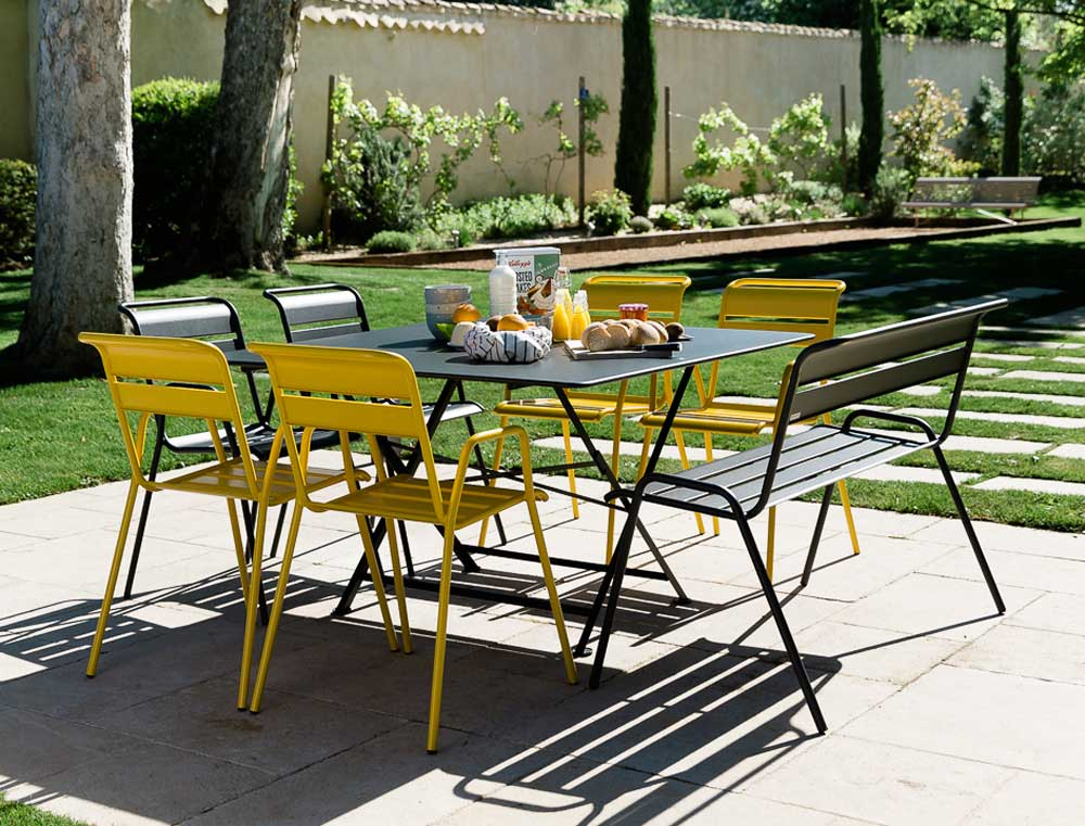 Garden Furniture Colours garden furniture three ways | jardin