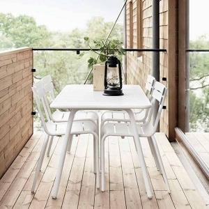 Dining outdoors is the ultimate luxury, make the most of the sunny days over spring, summer and well into autumn.