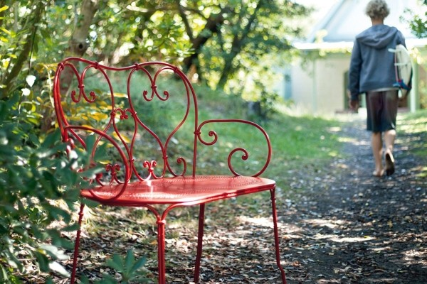 A Classic French Garden Bench