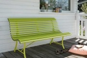 A Contemporary Garden Bench For Your Deck