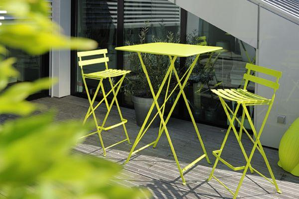 Bistro High Table 71 x 71cm  Bistro Outdoor Furniture  Jardin -> Table Bar Jardin
