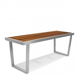 Evolve Bench from the Evolve Teak & Stainless Range collection