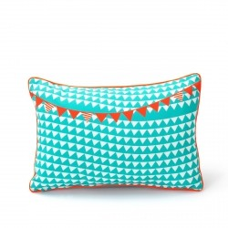 Calicot Cushion 44 x 30cm from the Cabanon Range collection