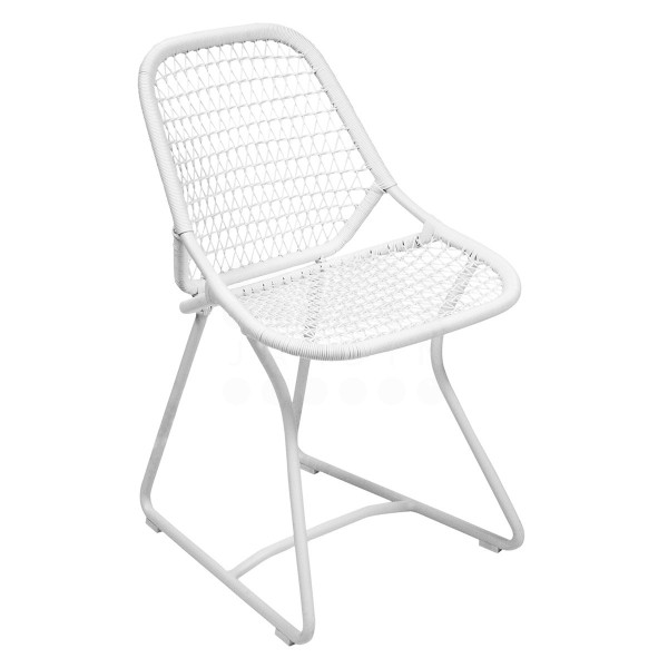 Fermob Sixties Dining Chair in Cotton White
