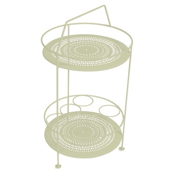 Fermob Montmartre Portable Bar in Willow Green