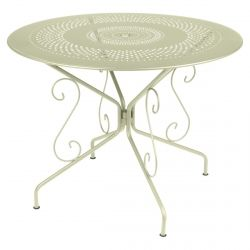 Montmartre Outdoor Table Round 96cm from the Montmartre French Garden Furniture collection