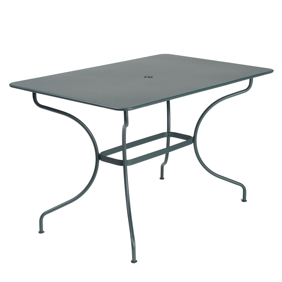 Opera rectangle table 117 x 77cm opera range jardin - Protection table jardin ...