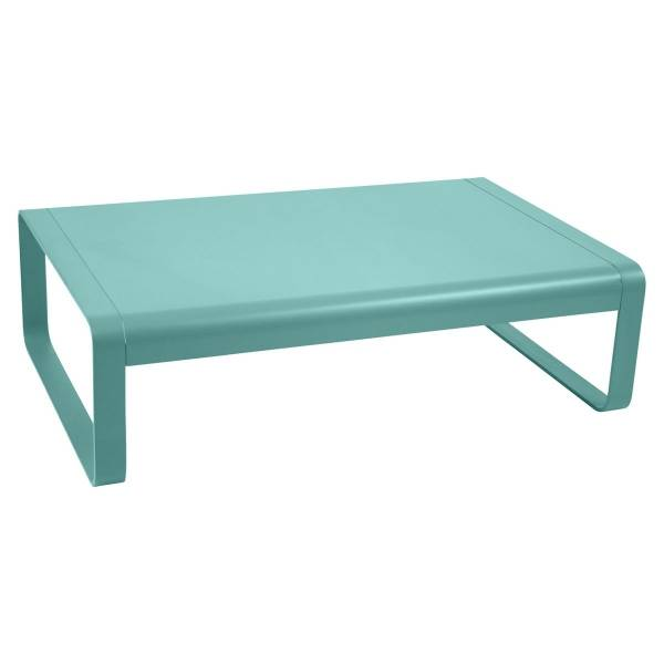 Fermob Bellevie Low Table in Lagoon Blue