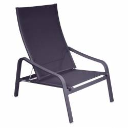 Alize Low Outdoor Armchair in colour Plum from Alize Contemporary Outdoor Lounge