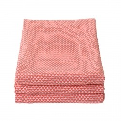Pasteques Outdoor Blanket 130 x 170cm in colour Capucine from Envie D'Ailleurs Collection