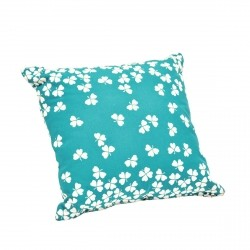 Trefle Outdoor Cushion 44 x 44cm in colour Turquoise from Trèfle Collection