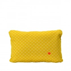Pasteques Outdoor Cushion 44 x 30cm in colour Honey from Envie D'Ailleurs Collection