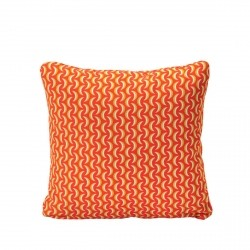 Bananes Outdoor Cushion 44 x 44cm in colour Capucine from Envie D'Ailleurs Collection