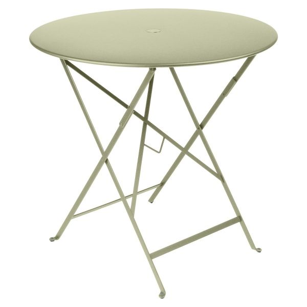 Fermob Bistro Table Round 77cm in Willow Green