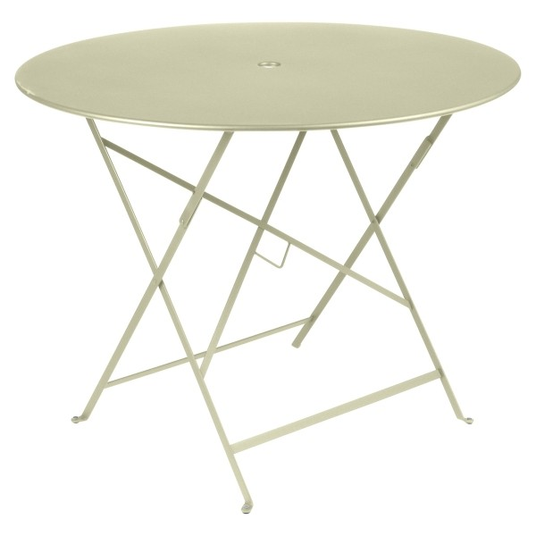 Fermob Bistro Table Round 96cm in Willow Green