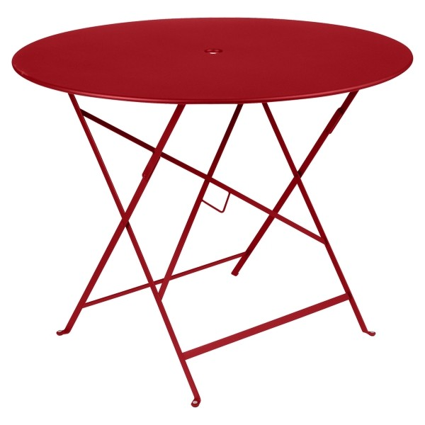 Fermob Bistro Table Round 96cm in Poppy