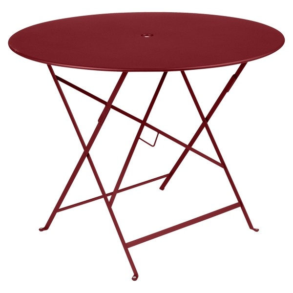 Fermob Bistro Table Round 96cm in Chilli