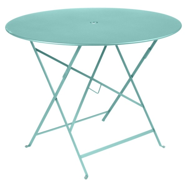 Fermob Bistro Table Round 96cm in Lagoon Blue