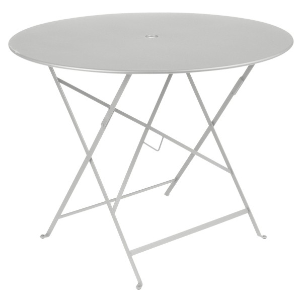 Fermob Bistro Table Round 96cm in Steel Grey