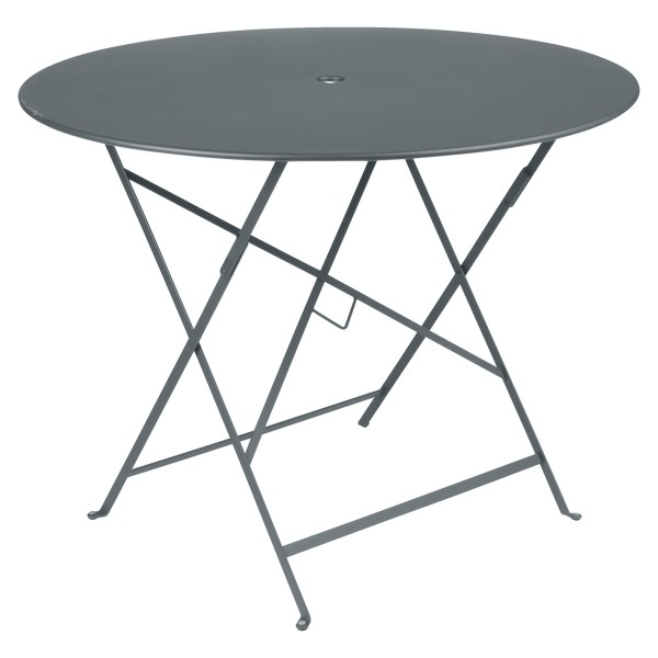 Fermob Bistro Table Round 96cm in Storm Grey