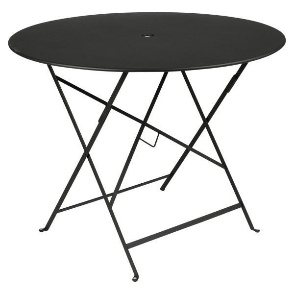 Fermob Bistro Table Round 96cm in Liquorice