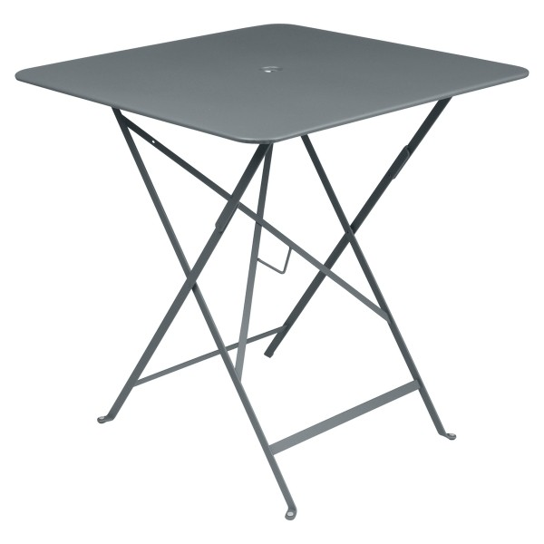 Fermob Bistro Table Square 71 x 71cm in Storm Grey