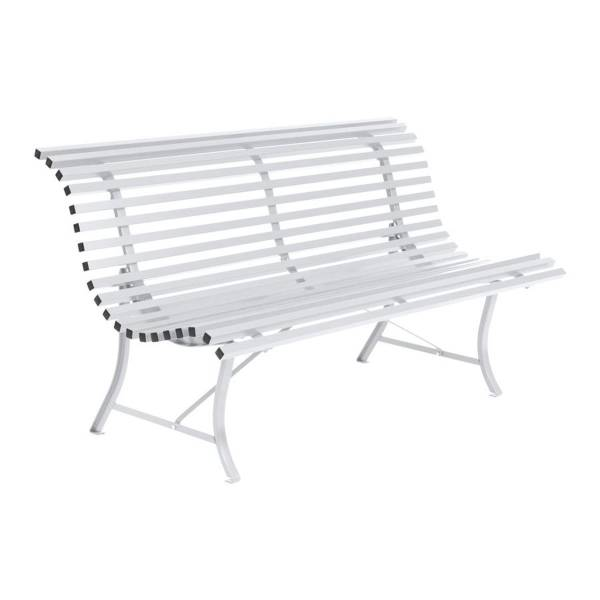 Fermob Louisiane Bench 150cm in Cotton White