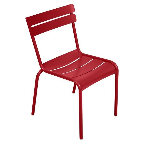 Fermob Luxembourg Chair in Poppy