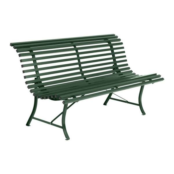 Fermob Louisiane Bench 150cm in Cedar Green