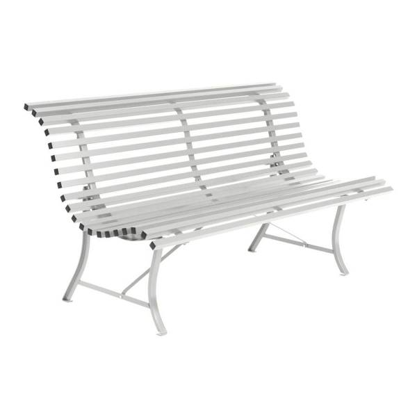 Fermob Louisiane Bench 150cm in Steel Grey