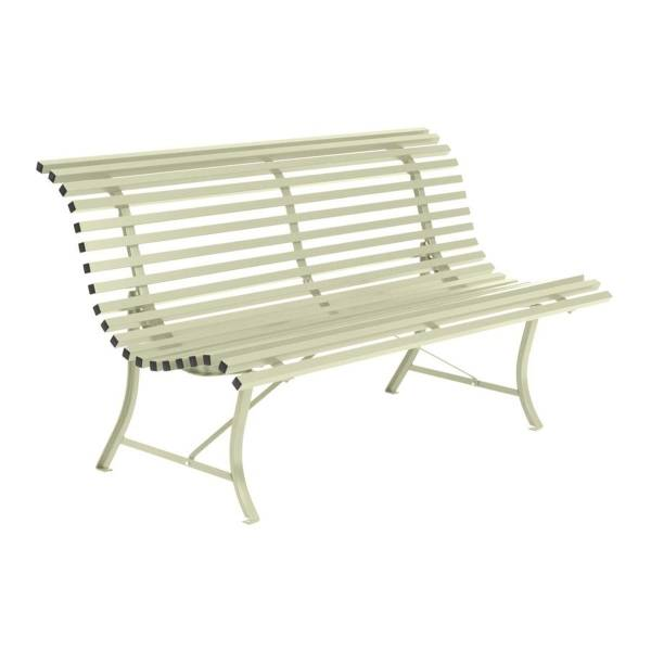 Fermob Louisiane Bench 150cm in Willow Green