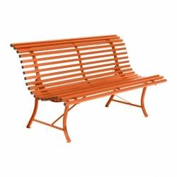 Louisiane Garden Bench 150cm in colour Carrot from Louisiane Garden Benches