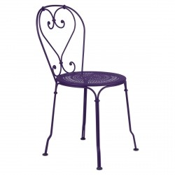1900 Outdoor Chair in colour Aubergine from 1900 Garden Furniture