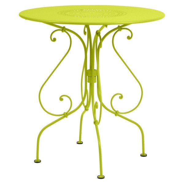 Fermob 1900 Table Round 67cm in Verbena