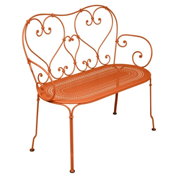 Fermob 1900 Bench in Carrot