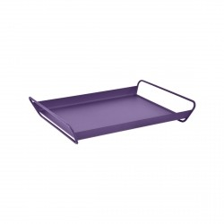 Alto Steel Serving Tray in colour Aubergine from Les Basics Collection