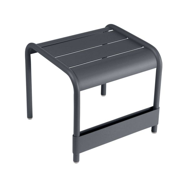 Fermob Luxembourg Small Low Table in Anthracite