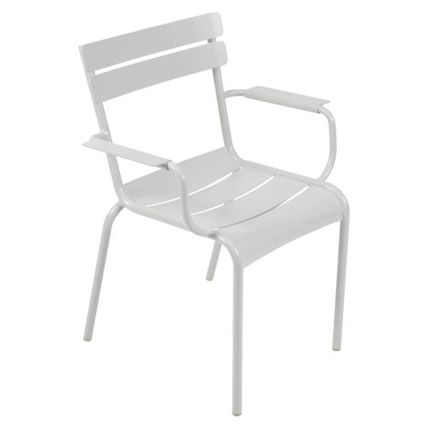 Fermob Luxembourg Armchair in Steel Grey