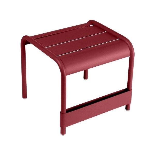 Fermob Luxembourg Small Low Table in Chilli