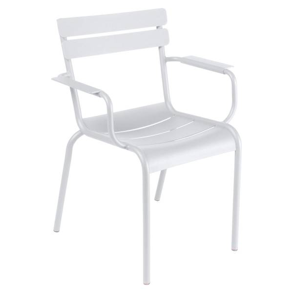 Fermob Luxembourg Armchair in Cotton White