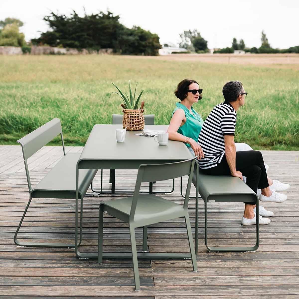 Bellevie outdoor table from bellevie contemporary outdoor furniture