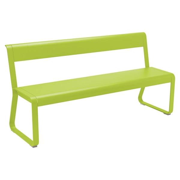 Fermob Bellevie Bench with Back in Verbena