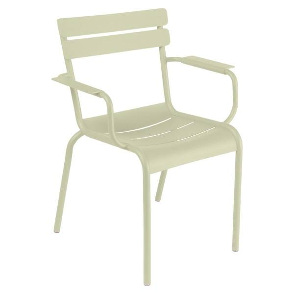 Fermob Luxembourg Armchair in Willow Green