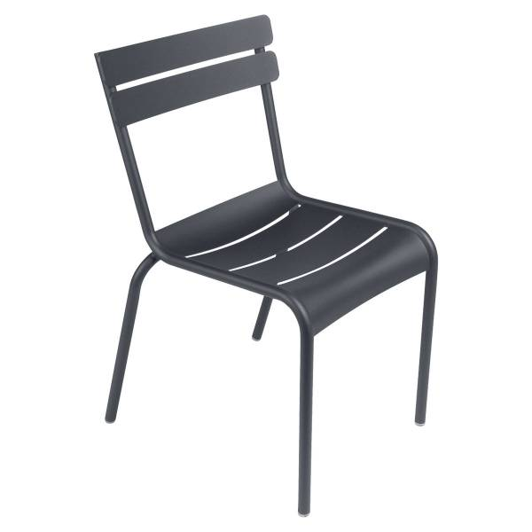 Fermob Luxembourg Chair in Anthracite