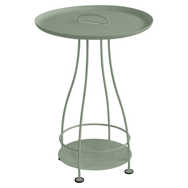 Fermob Happy Hours Pedestal Table in Cactus