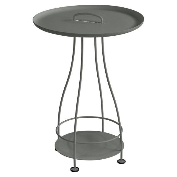 Fermob Happy Hours Pedestal Table in Rosemary
