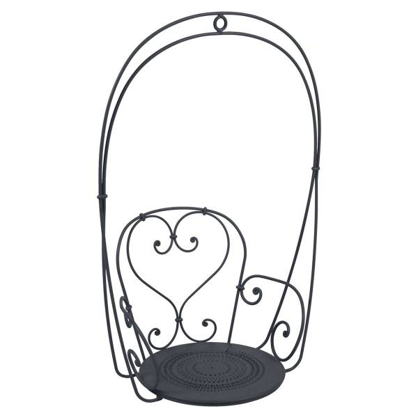 Fermob 1900 Hanging Garden Chair in Anthracite